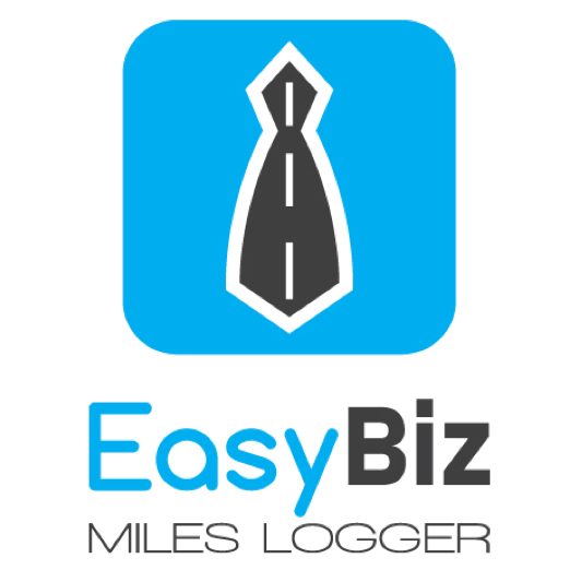 Logo for EasyBiz - Mileage Tracker & Expense Log