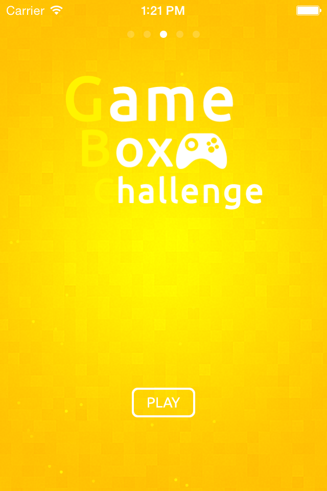 Logo for Game Box Challenge