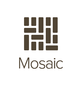 Logo for Mosaic by Mixbook