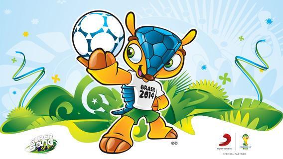 Logo for Brasil 2014 3D