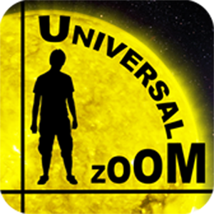 Logo for Universal Zoom: All About Sizes and Distances