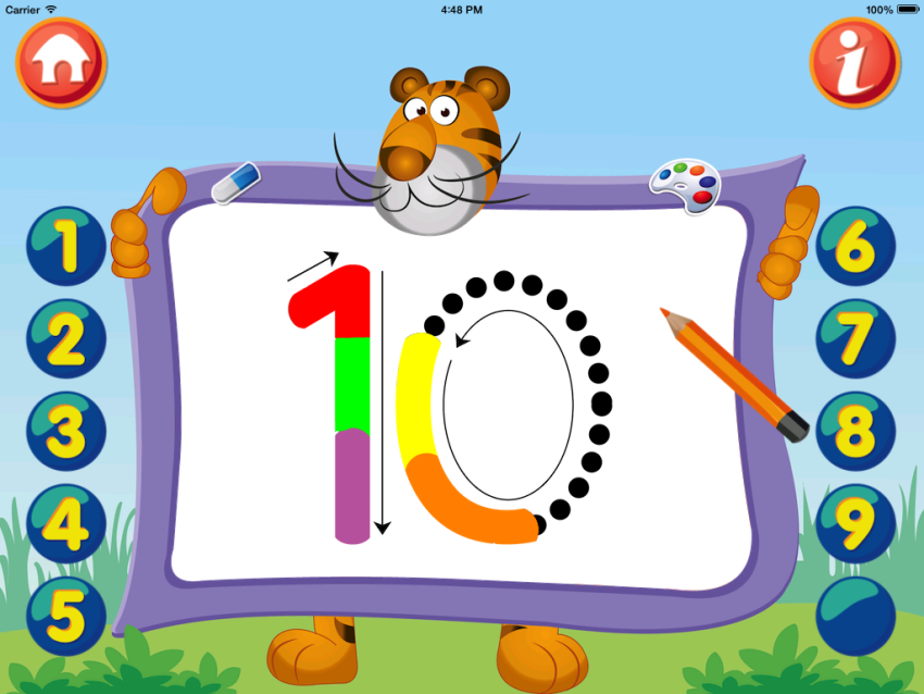 Kids Math Count Numbers Game Mobile App | The Best Mobile App Awards