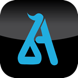 Logo for Blue Anatomy App