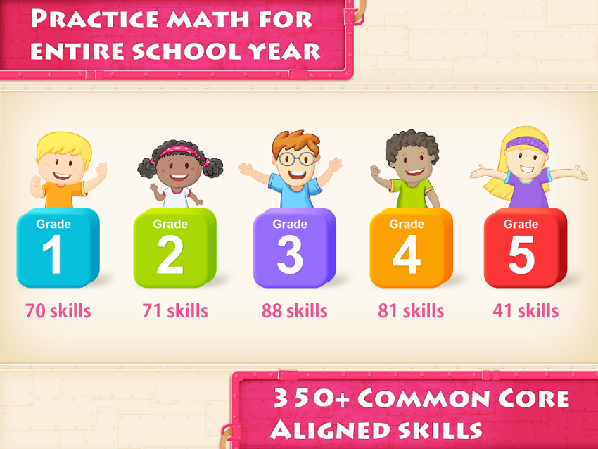 Splash Math - Grades 1 to 5 Mobile App | The Best Mobile App Awards