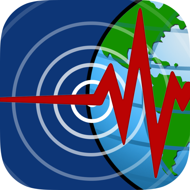 Logo for Oz Quake - earthquake monitoring app