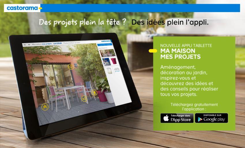 Castorama ma maison mes projets mobile app the best for Application castorama