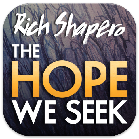 Logo for The Hope We Seek by Rich Shapero