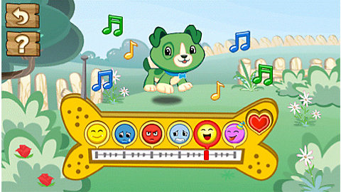 Scout and Friends   and You!: LeapTV Edition Mobile App