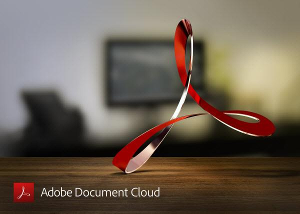 Logo for Adobe Acrobat Reader DC
