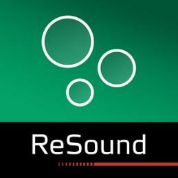 Logo for The ReSound Relief App