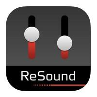 Logo for The ReSound Smart App