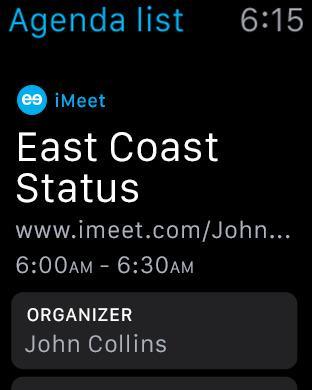 Logo for iMeet Agenday