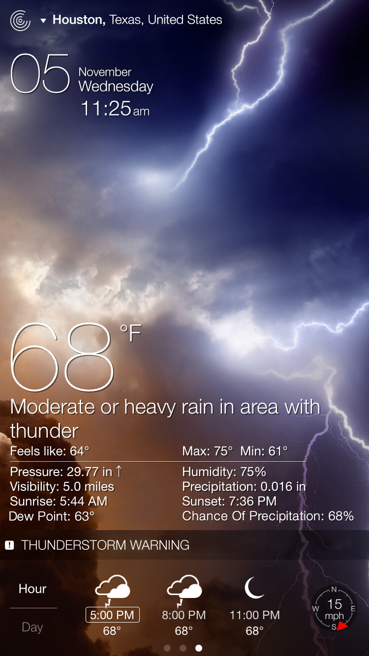 Weather Live Mobile App | The Best Mobile App Awards