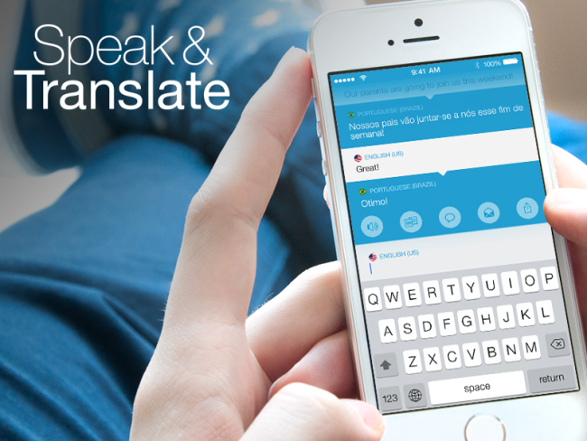 Logo for Speak & Translate for Messenger