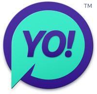 Logo for YO!