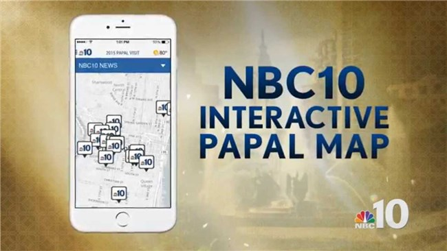 Logo for Papal Map App