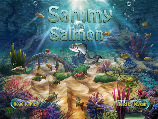 Logo for Sammy The Salmon