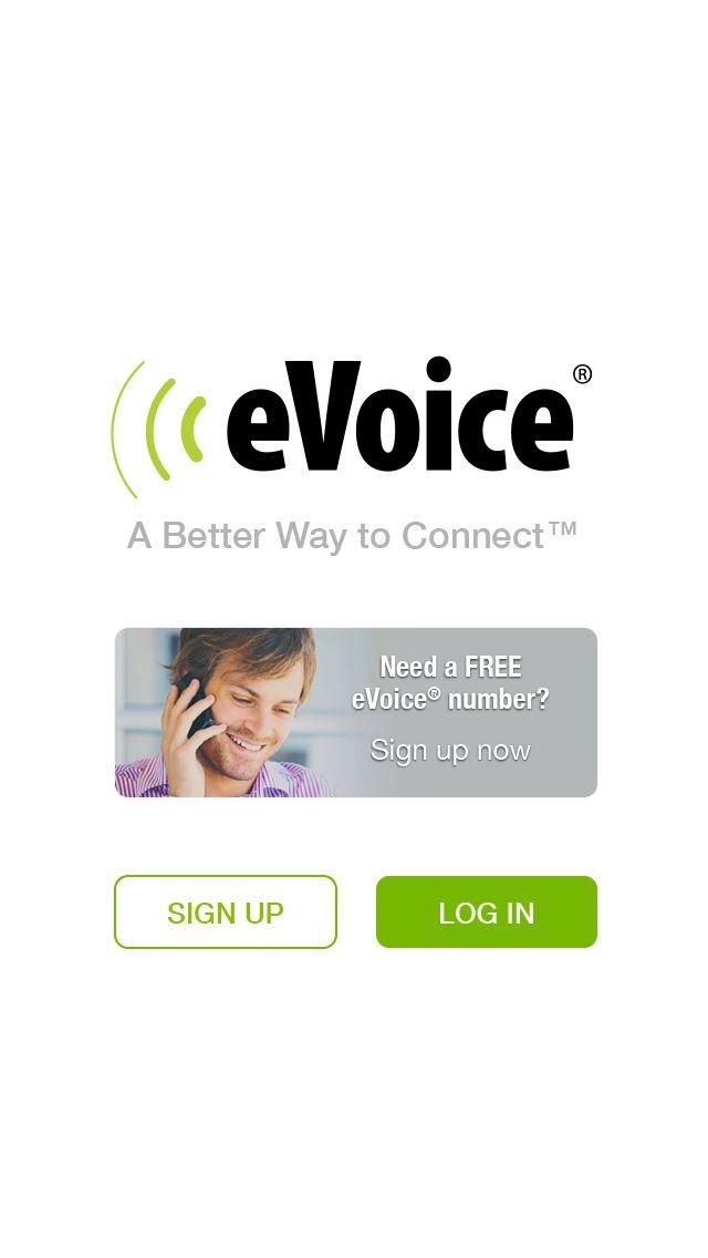Logo for eVoice iOS Application