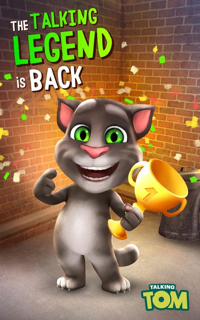 Logo for Talking Tom Cat