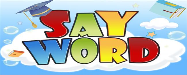 Logo for Say Word