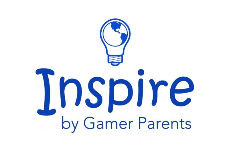 Logo for Inspire by Gamer Parents