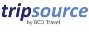 Logo for TripSource® by BCD Travel