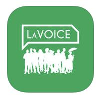 Logo for LAVOICE