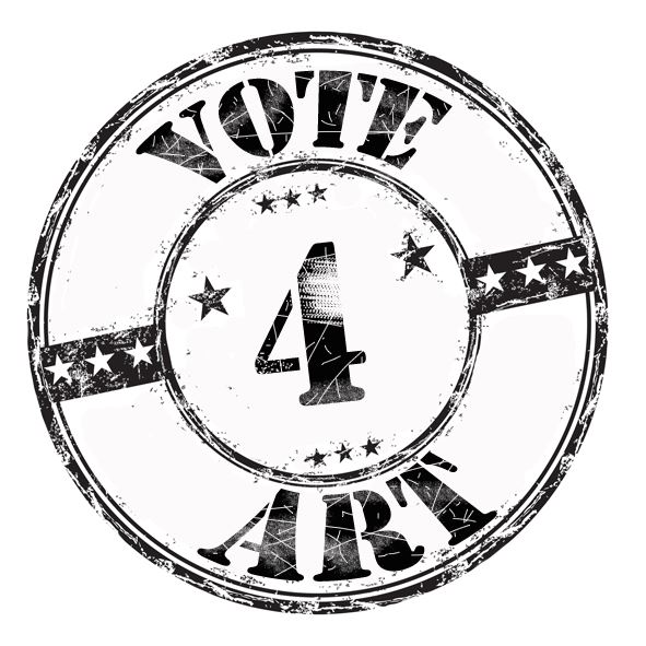 Logo for VOTE4ART