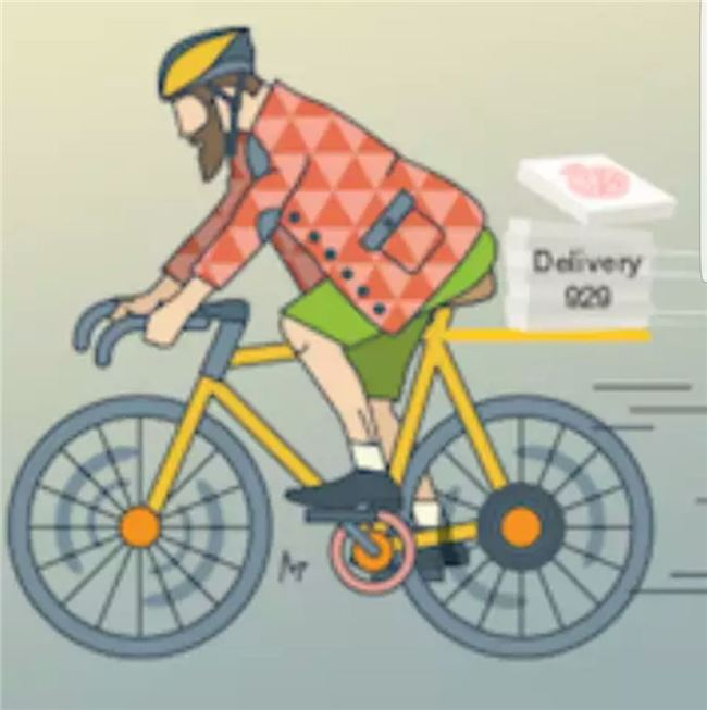 Logo for delivery929