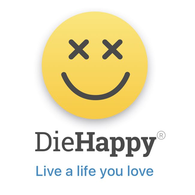 Logo for DieHappy
