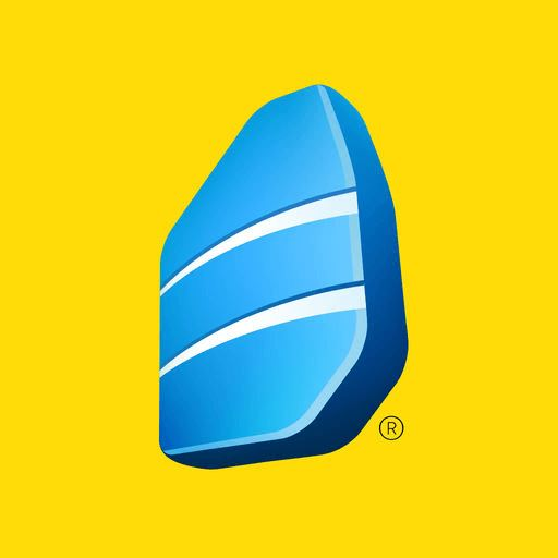 Logo for Learn Languages with Rosetta Stone