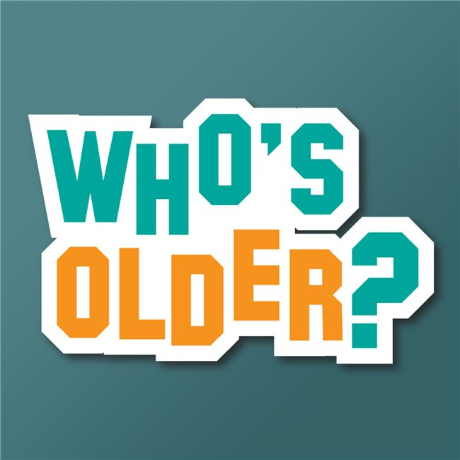 Logo for Who's Older?