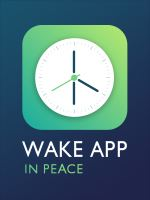 Logo for Wake App In Peace