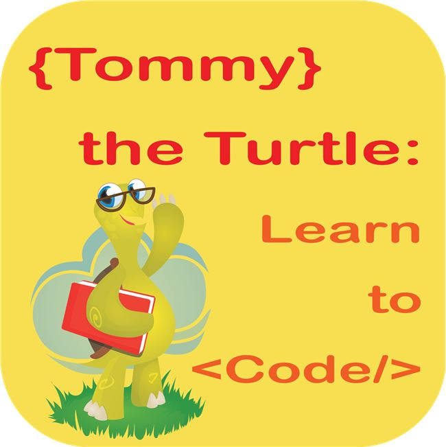 Logo for Tommy the Turtle - Learn to Code