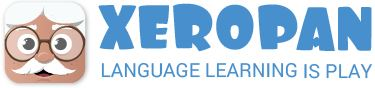 Logo for Xeropan - Language learning is PLAY