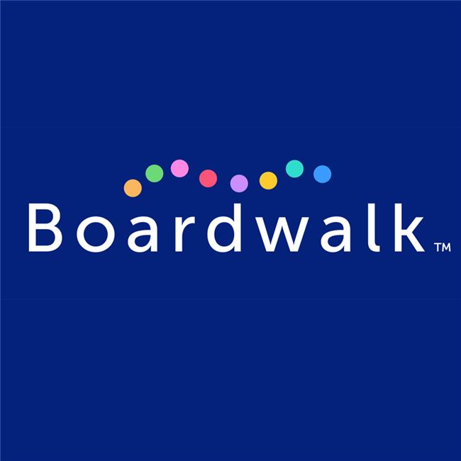 Logo for Boardwalk App