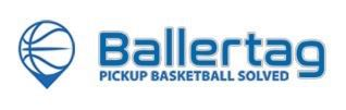 Logo for Ballertag - Pickup Basketball