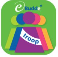 Logo for eBudde™ Troop App