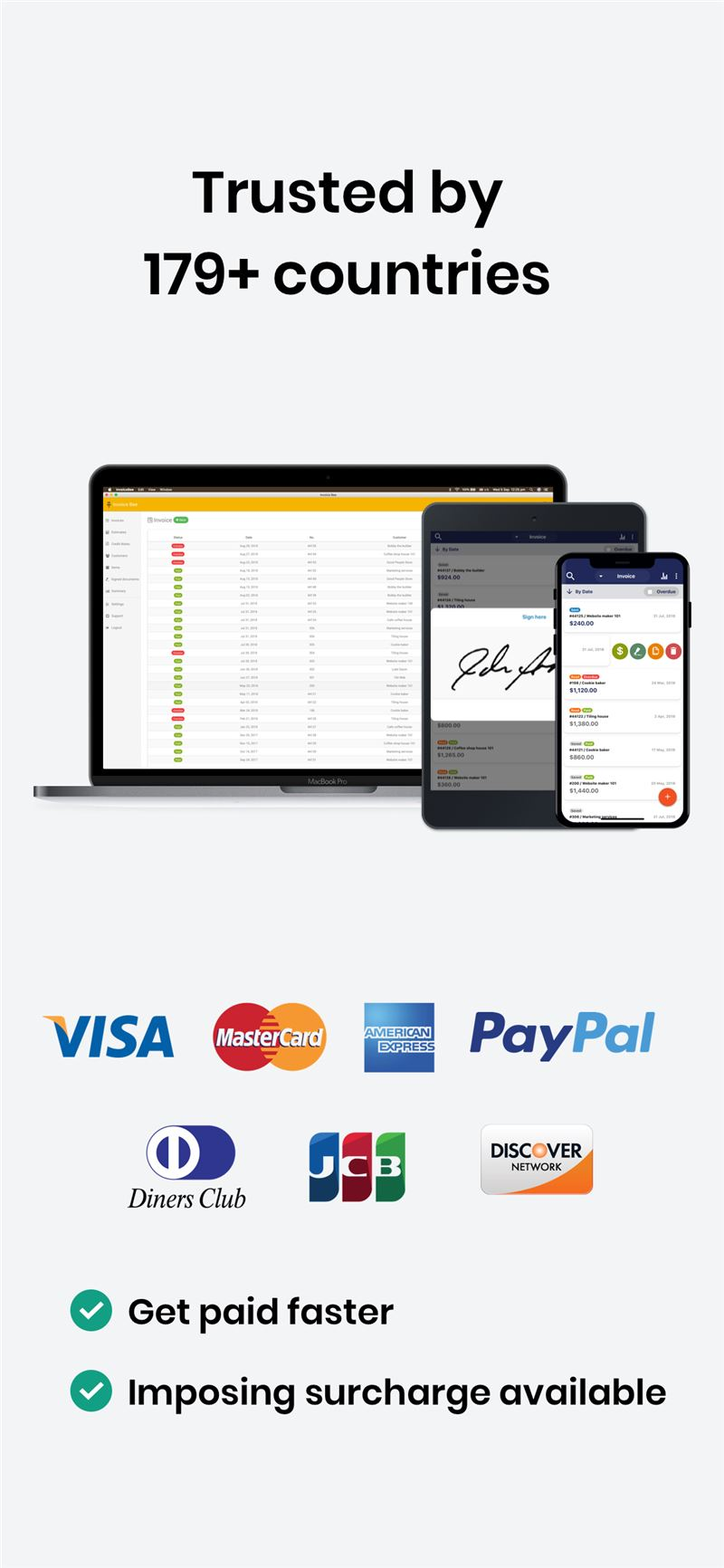 Bookipi Invoice Maker Mobile App The Best Mobile App Awards - Invoice maker with logo