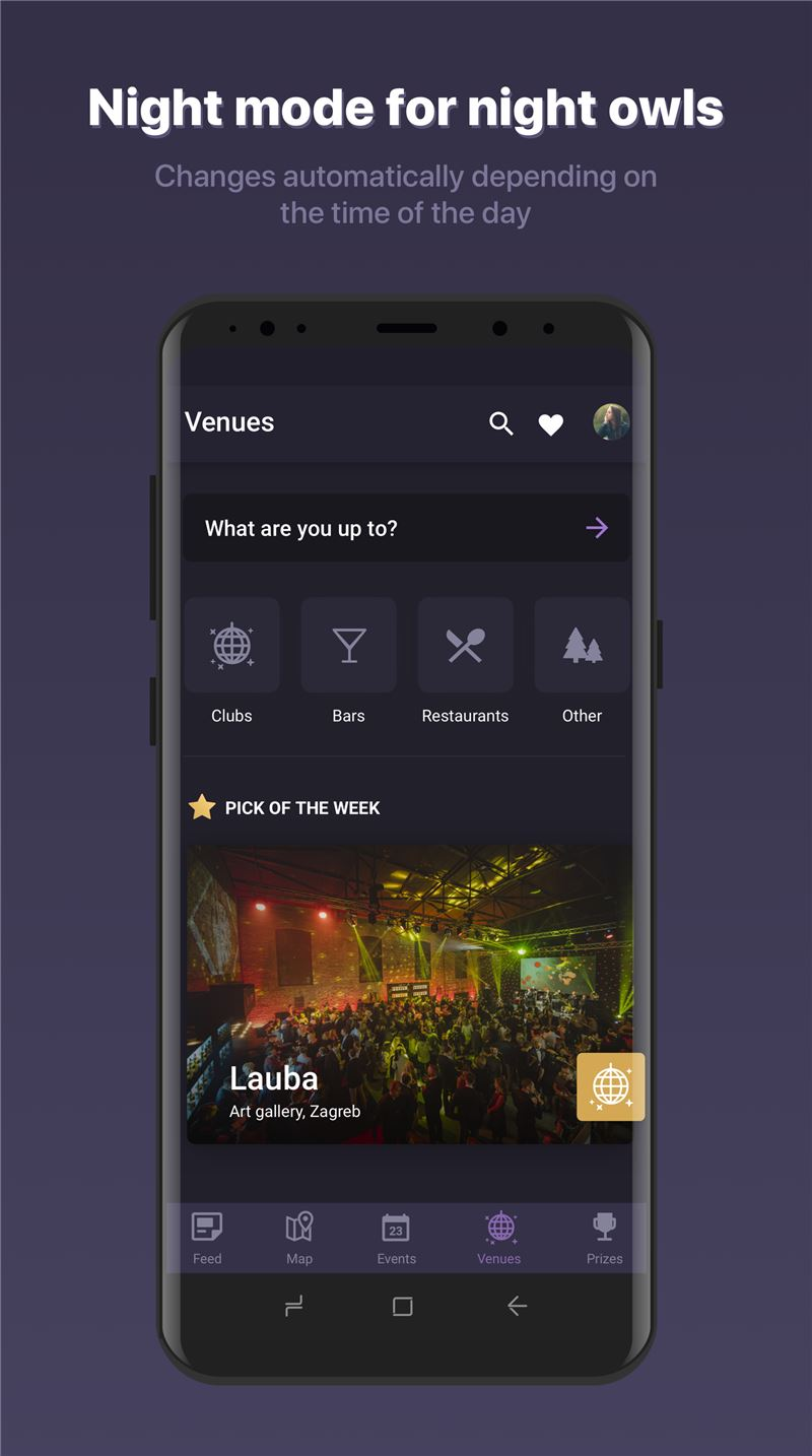 LikeUs Mobile App | The Best Mobile App Awards