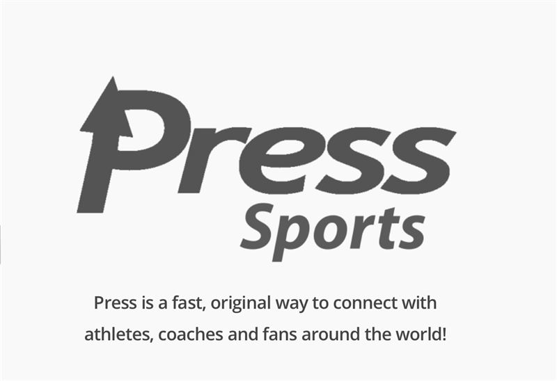 Logo for Press Sports App