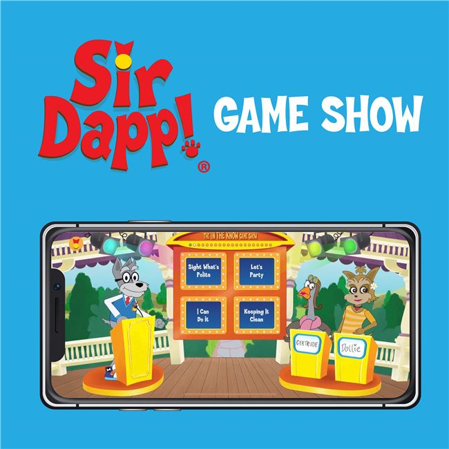 Logo for Sir Dapp! Game Show