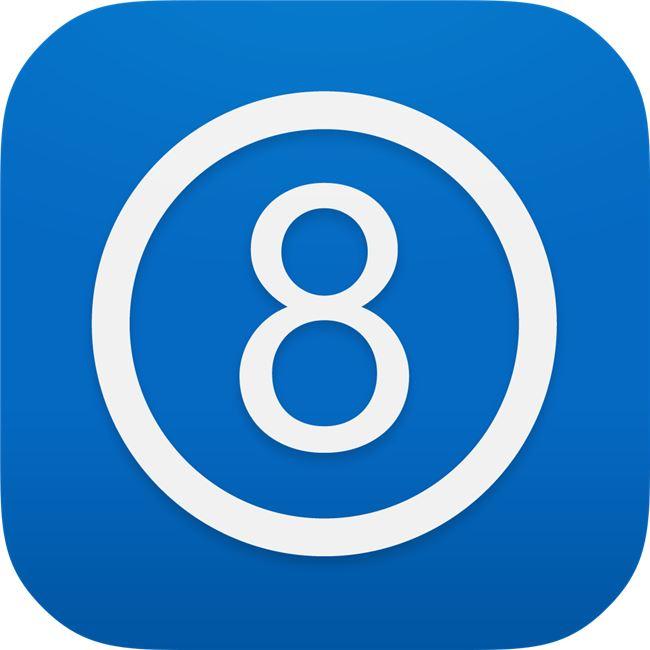Logo for The 8 App