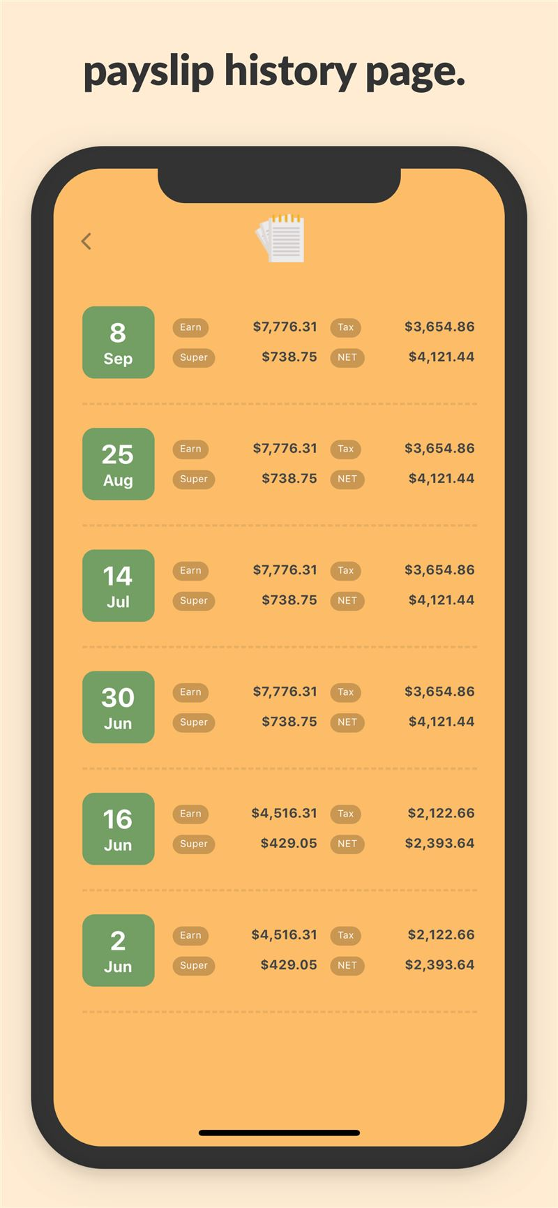 Payroller Mobile App | The Best Mobile App Awards