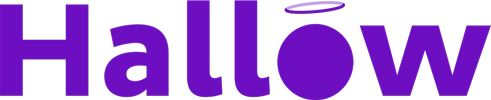 Logo for Hallow