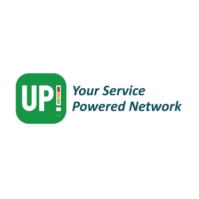 Logo for The UP! App