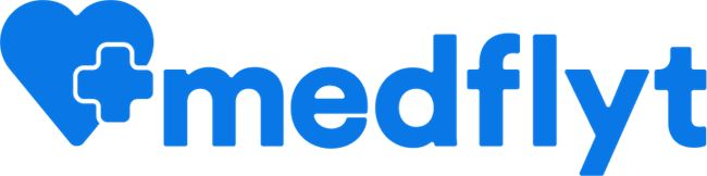 Logo for MedFlyt