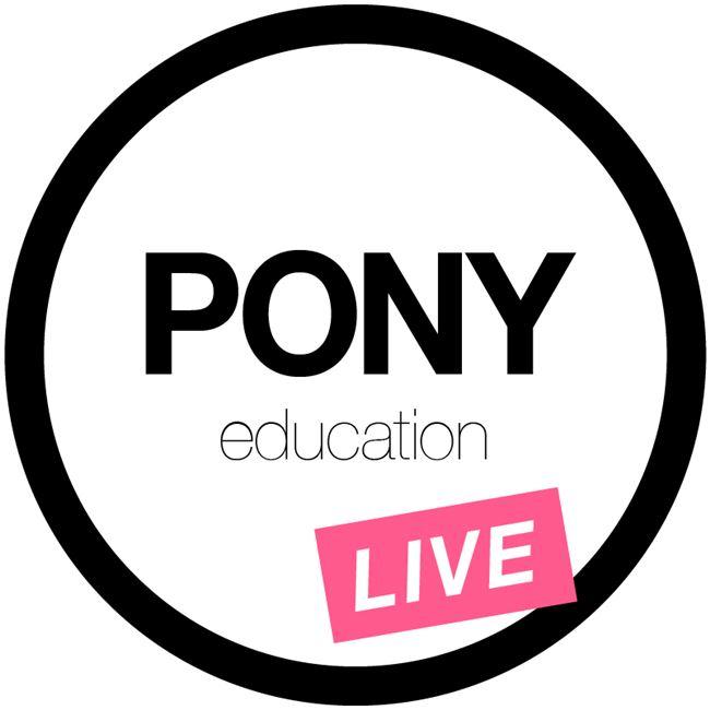 Logo for Pony Education LIVE