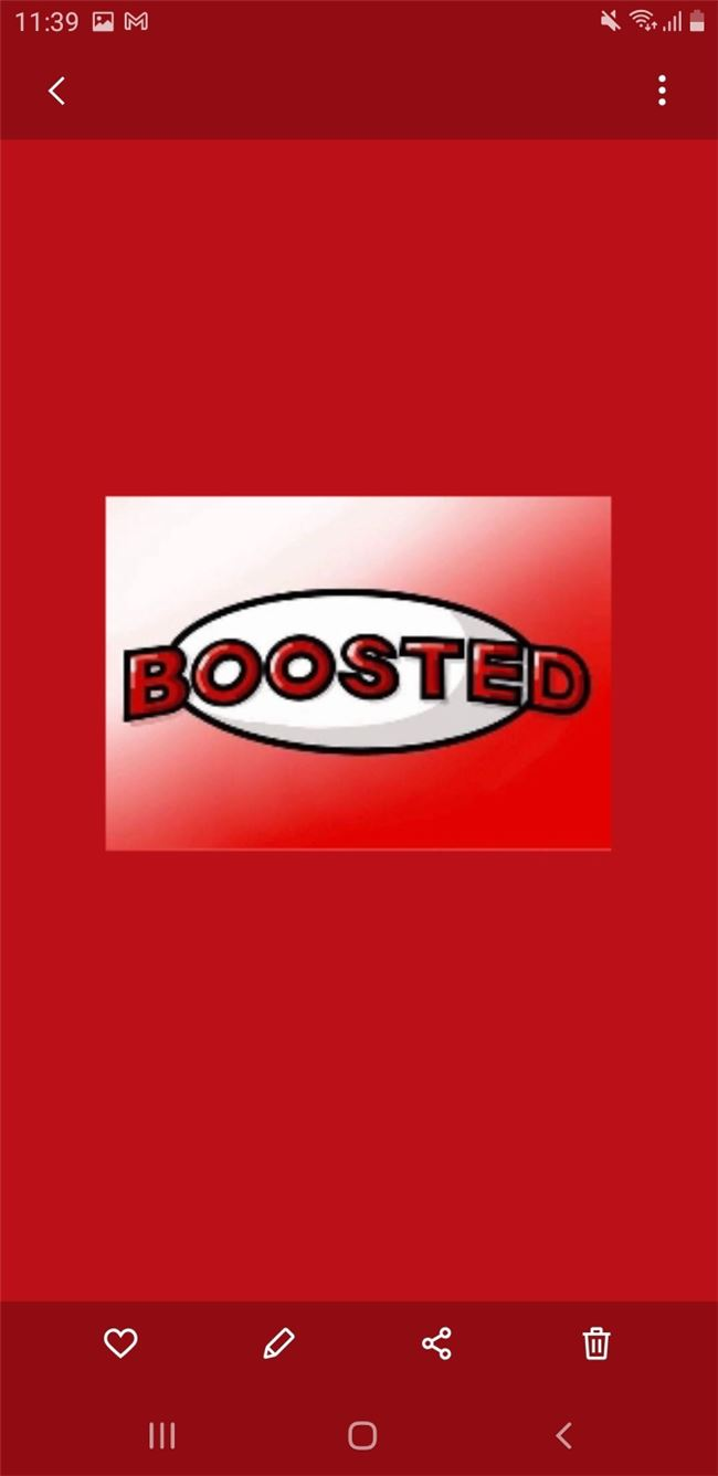 Logo for Boosted!™?
