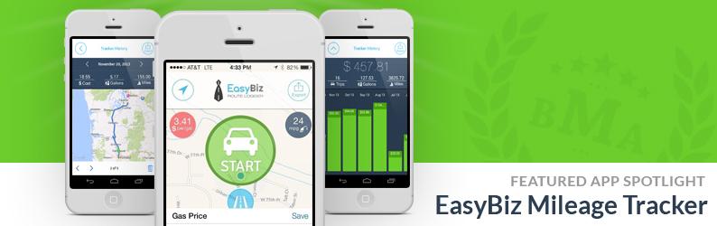 App Spotlight: EasyBiz Mileage Tracker